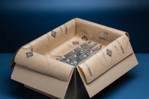VCI papír - antikorozní ochrana pro kovové výrobky